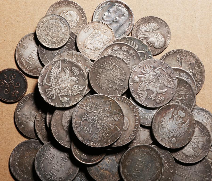 外国硬貨まとめて ロシアのコイン 100枚_画像2