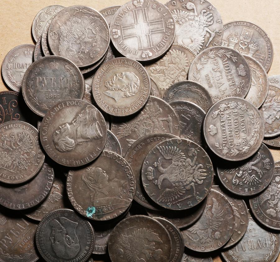 外国硬貨まとめて ロシアのコイン 100枚_画像5