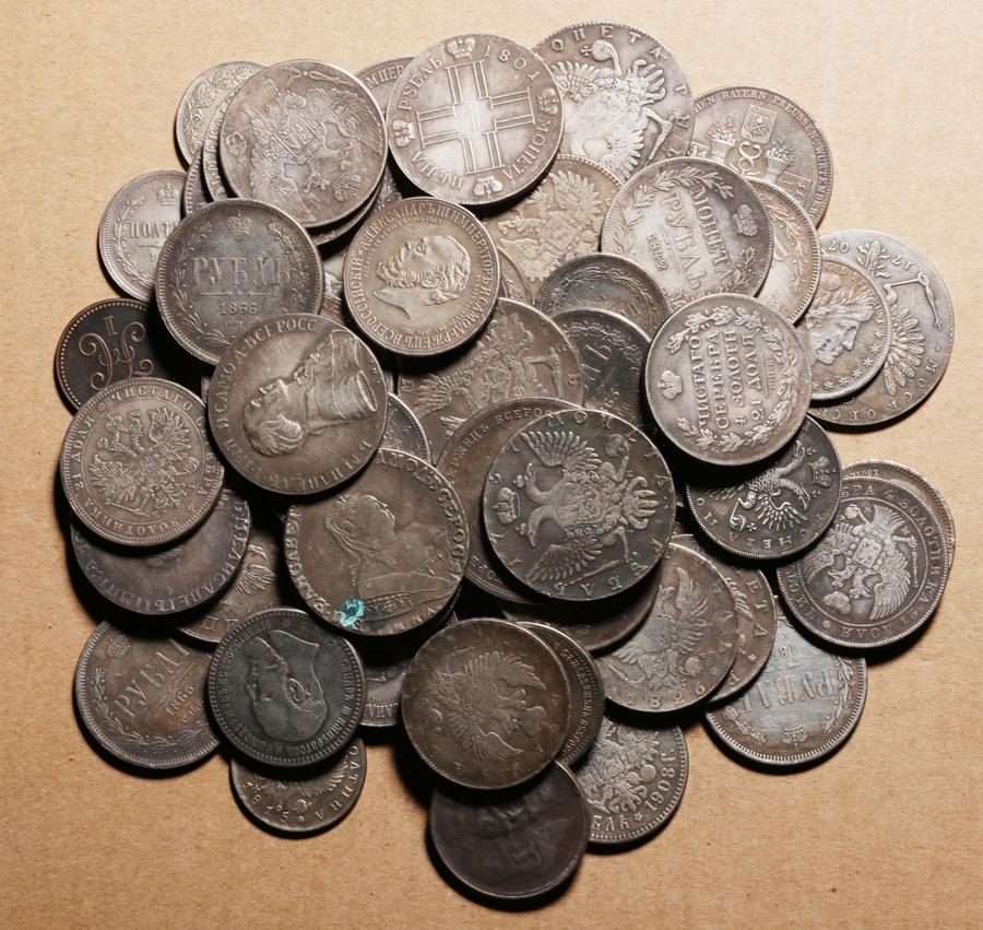 外国硬貨まとめて ロシアのコイン 100枚_画像4