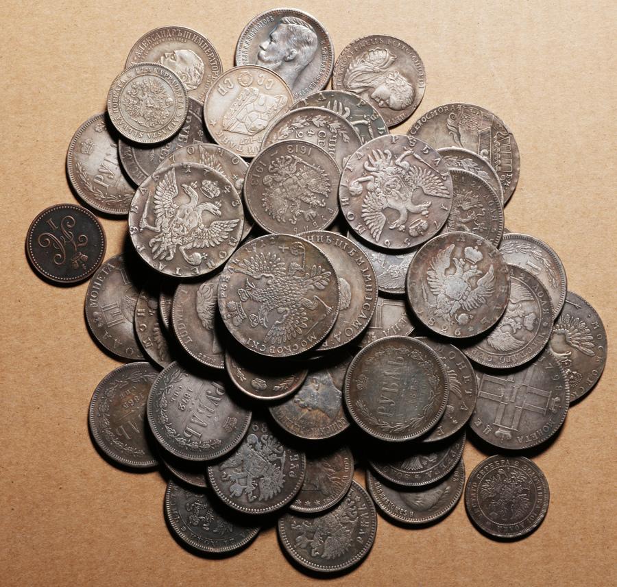 外国硬貨まとめて ロシアのコイン 100枚