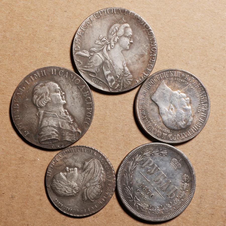 外国硬貨まとめて ロシアのコイン 100枚_画像7