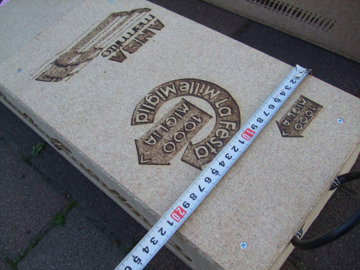 【整理処分全国送料無料】【自作手作り品】Y 木製スロープ かさ上げ高さ98ミリ 幅210 FIATオーナー様 カースロープ ピニンマレリ_画像4