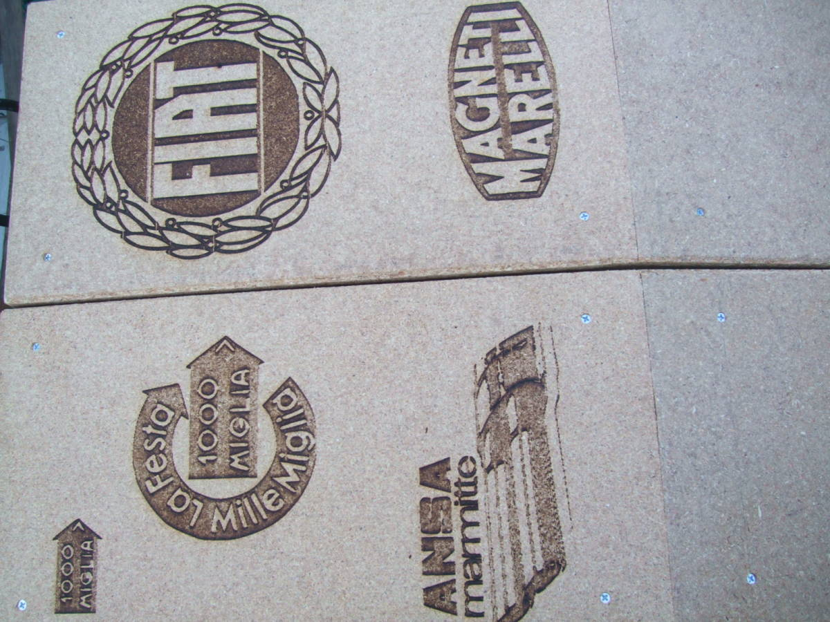 【整理処分全国送料無料】【自作手作り品】Y 木製スロープ かさ上げ高さ98ミリ 幅210 FIATオーナー様 カースロープ ピニンマレリ_画像10