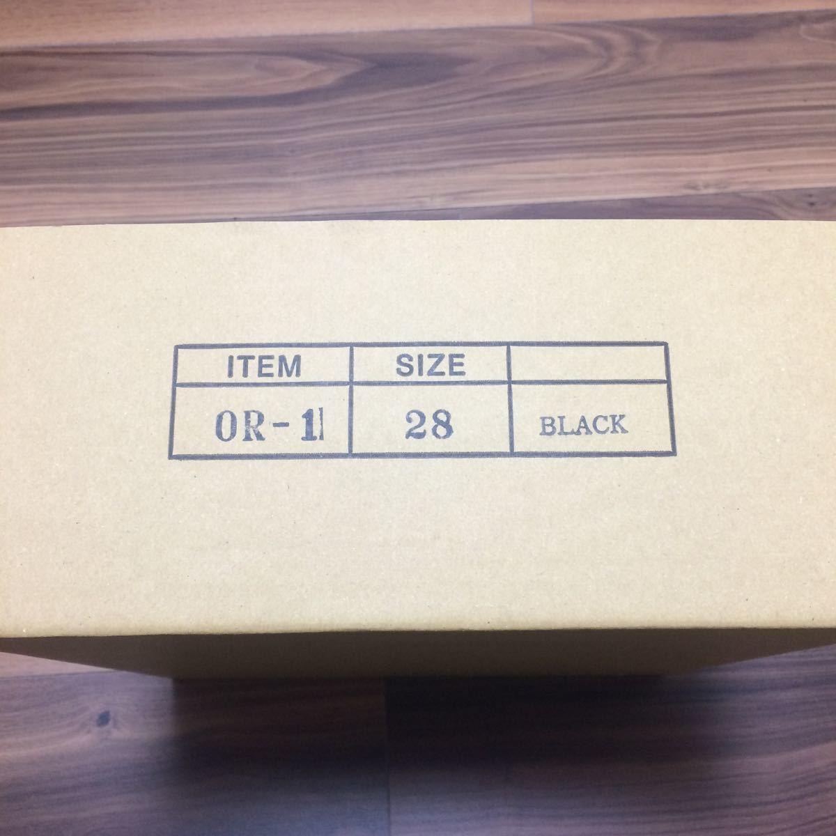 安藤製靴 OR1 チロリアンシューズ ブラック 28cm _画像5