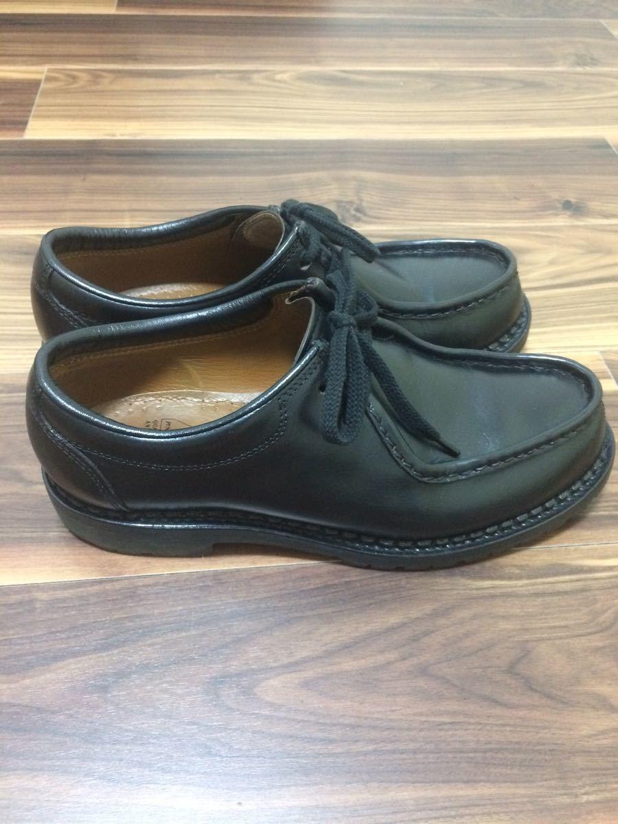 安藤製靴 OR1 チロリアンシューズ ブラック 28cm _画像4