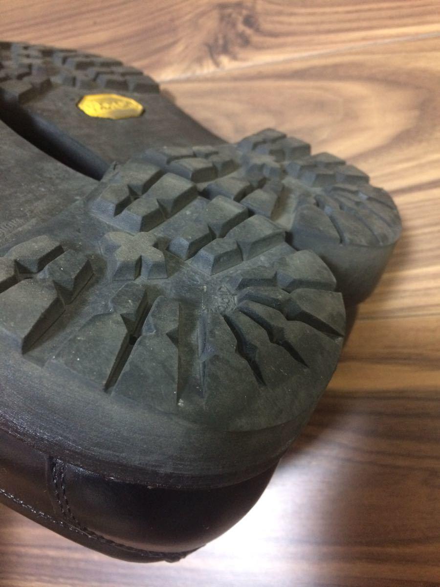 安藤製靴 OR1 チロリアンシューズ ブラック 28cm _画像3