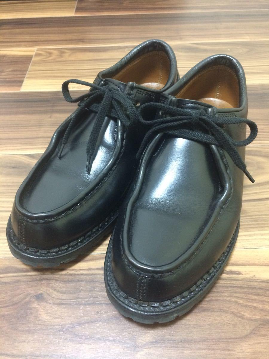 安藤製靴 OR1 チロリアンシューズ ブラック 28cm