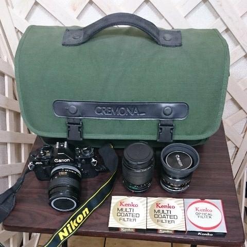 ☆Canon キヤノン A-1 FD50mm F1.4 S.S.C MF一眼レフカメラ 標準レンズ /100mm1:2.8 S.S.C/FD 35-105mm 1:3.5-4.5/レンズ3点付き訳あり_画像10