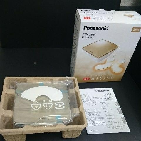 Panasonic パナソニック 低周波治療器 おうちリフレ EW-NA65 シャンパンゴールド 全身用 《未使用》_画像2