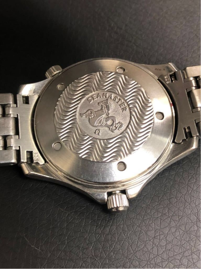 訳あり OMEGA オメガ Seamaster Professional chronometer 300m シーマスター プロフェッショナル クロノメーター 自動巻 メンズ _画像6