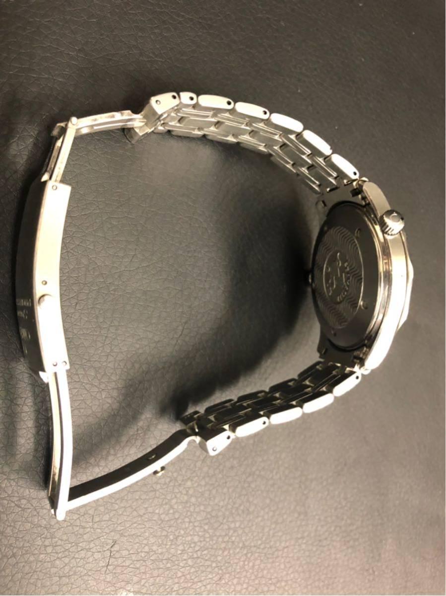 訳あり OMEGA オメガ Seamaster Professional chronometer 300m シーマスター プロフェッショナル クロノメーター 自動巻 メンズ _画像10