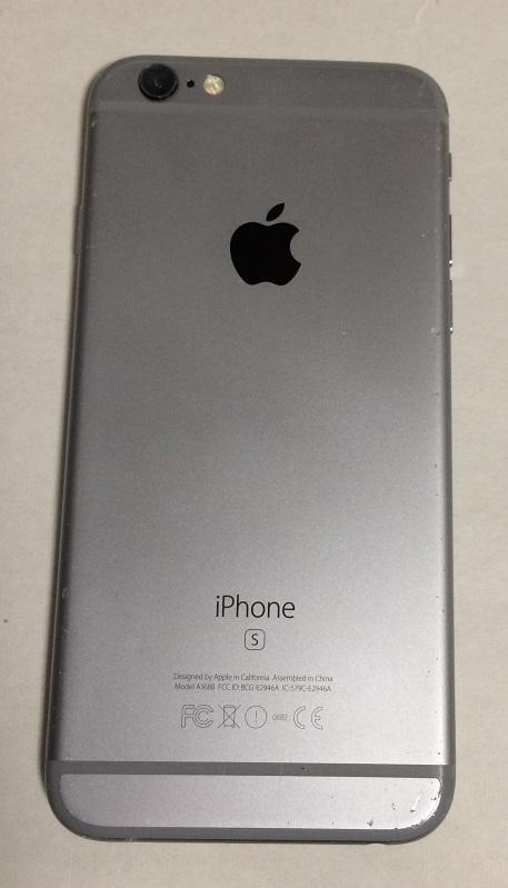 iPhone6S 128GB ソフトバンク スペースグレイ バッテリー88%  送185円 _画像4