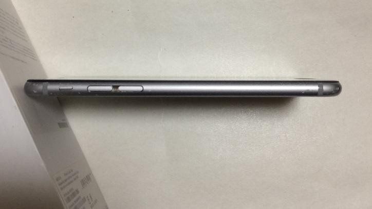 iPhone6S 128GB ソフトバンク スペースグレイ バッテリー88%  送185円 _画像5