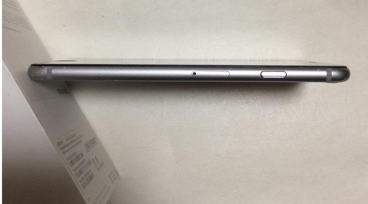 iPhone6S 128GB ソフトバンク スペースグレイ バッテリー88%  送185円 _画像7