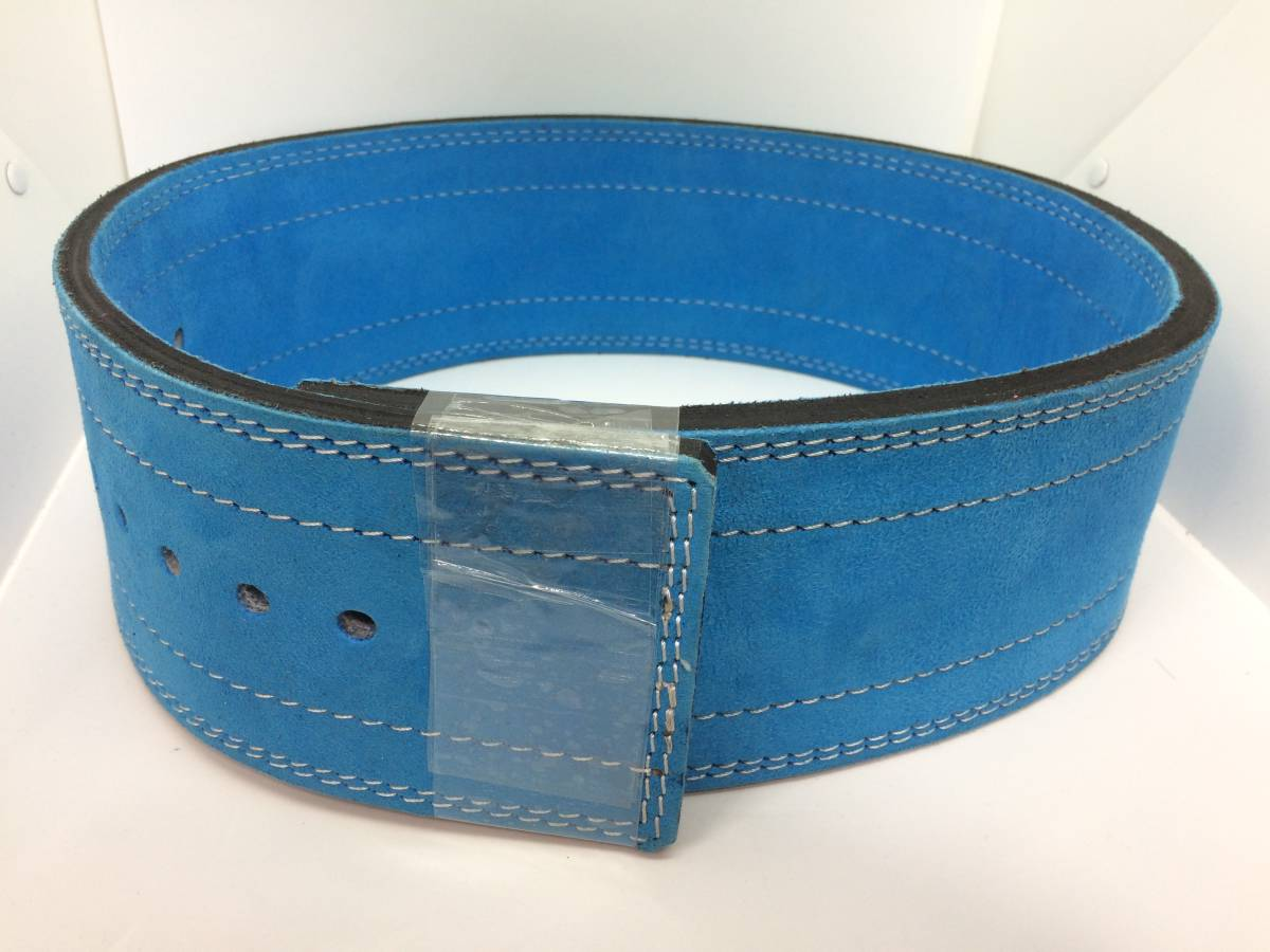 lever action belt training .tore weight weight power lifting light blue