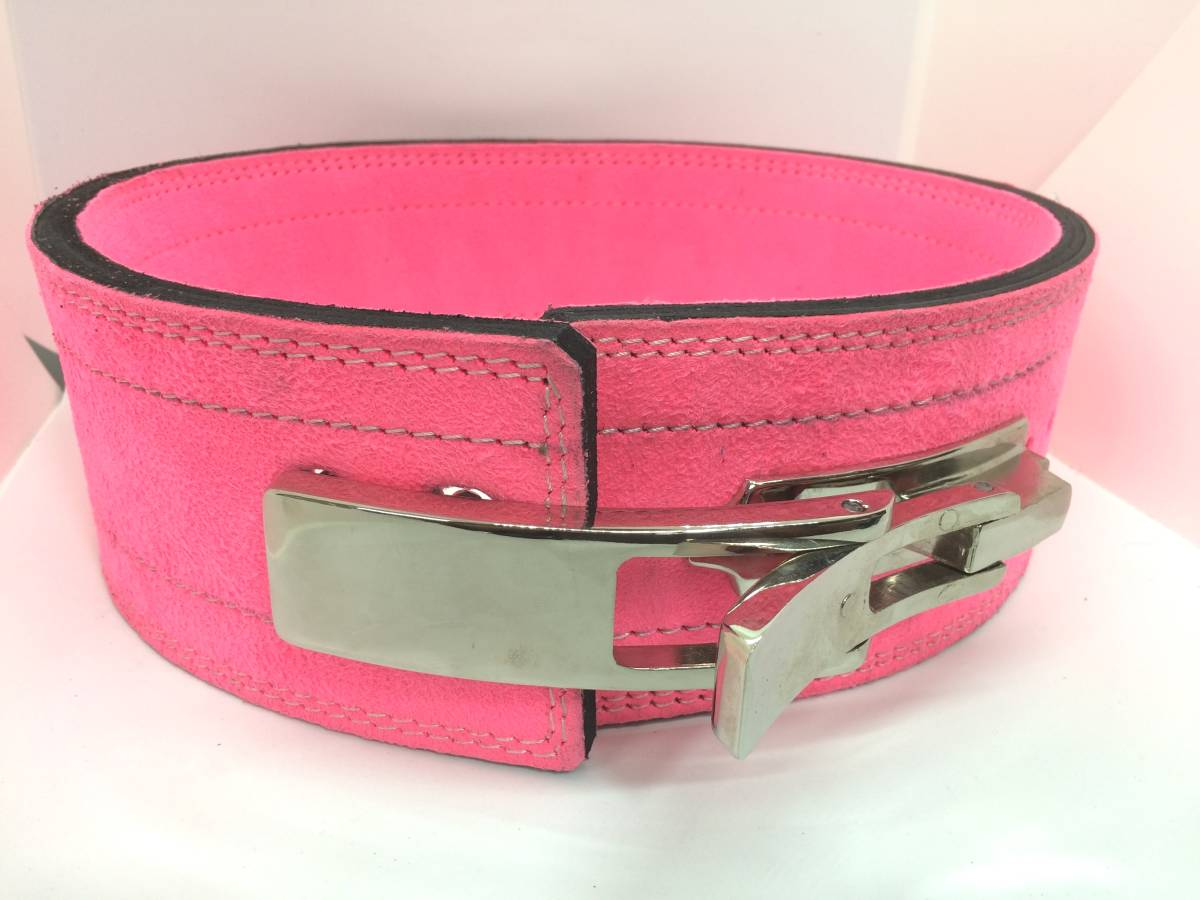 lever action belt training .tore weight weight power lifting pink