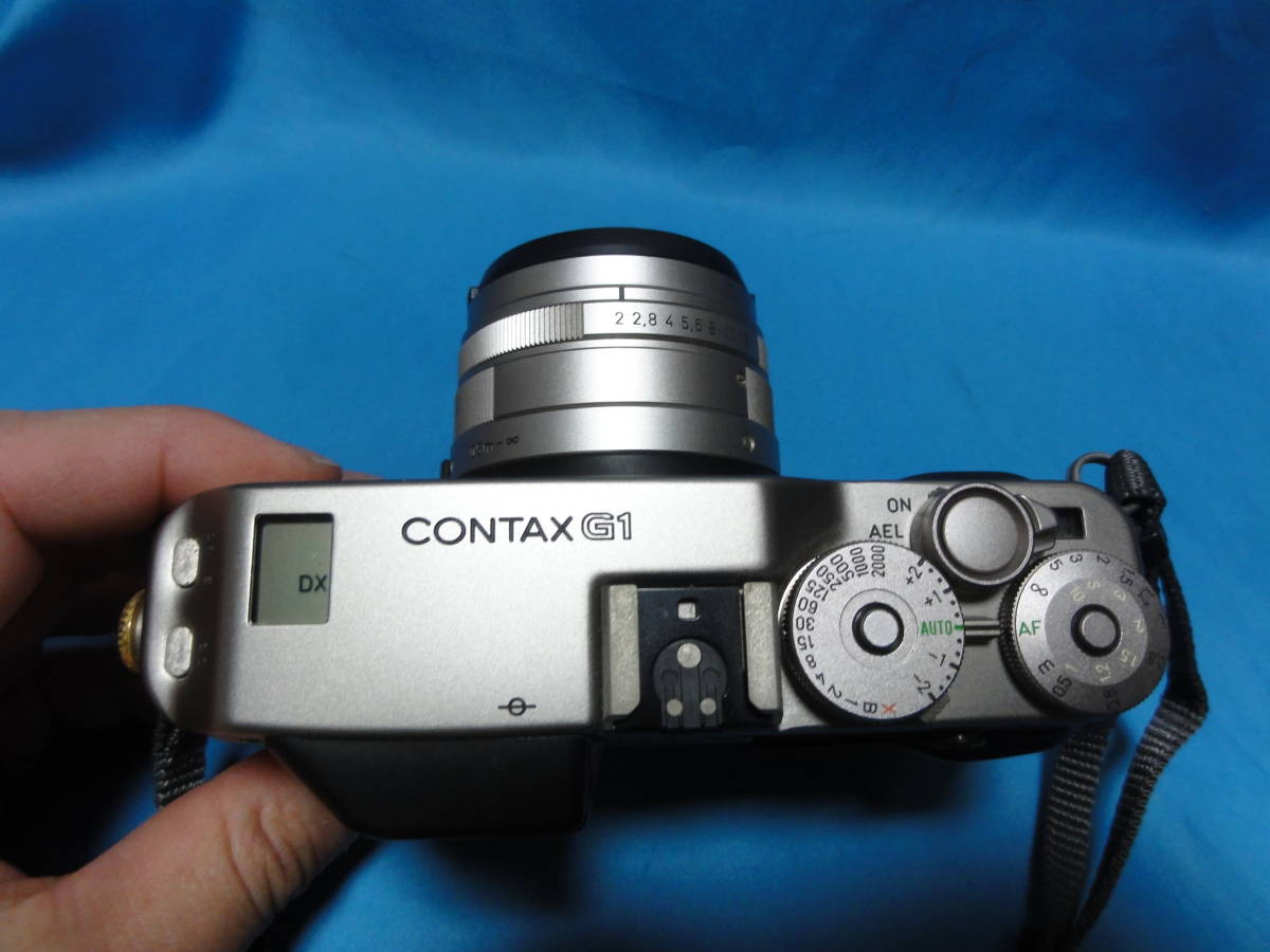 ヤフネコ!送料込み!!CONTAX コンタックス G1 Planar 2/45 T 作動確認済み 取扱説明書付き_画像8