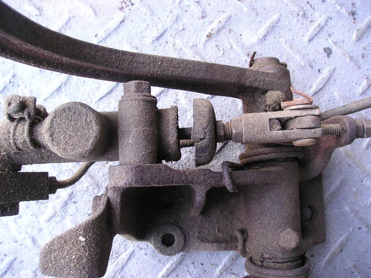 3輪ミゼット MP5型 フートブレーキペタル クラッチペタル ジャンク品_画像4