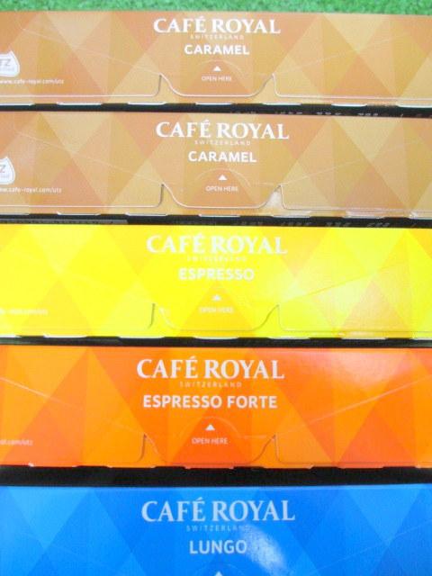 ネスプレッソ互換コーヒーカプセル CAFE ROYAL カフェロイヤル 4種類セット 合計50カプセル_画像2