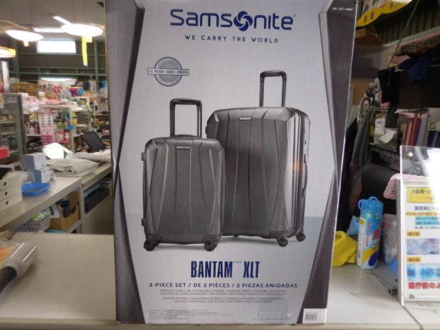 ○1円~サムソナイト スーツケース BANTAM XLT 28、22インチ2個セット ダークグレー Samsonite展示品_画像3