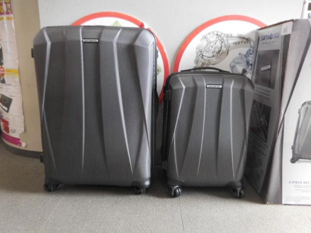 ○1円~サムソナイト スーツケース BANTAM XLT 28、22インチ2個セット ダークグレー Samsonite展示品_画像2