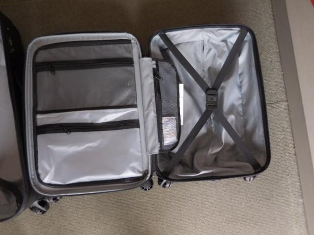 ○1円~サムソナイト スーツケース BANTAM XLT 28、22インチ2個セット ダークグレー Samsonite展示品_画像7