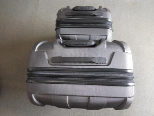 ○1円~サムソナイト スーツケース BANTAM XLT 28、22インチ2個セット ダークグレー Samsonite展示品_画像4
