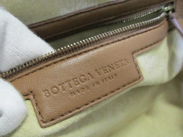 《超美品》Bottega Veneta ボッテガ・ヴェネタ イントレチャート バッグ ナッパ 本革 DHEG19-5_画像9