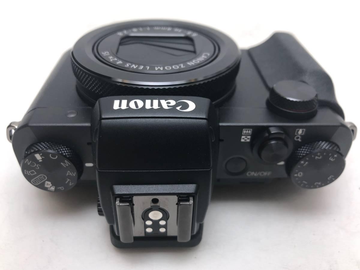 ◆新品同様◆Canon キャノン デジタルカメラ PowerShot パワーショット G5X ブラック 安心の6カ月保証 元箱付 #528_画像9