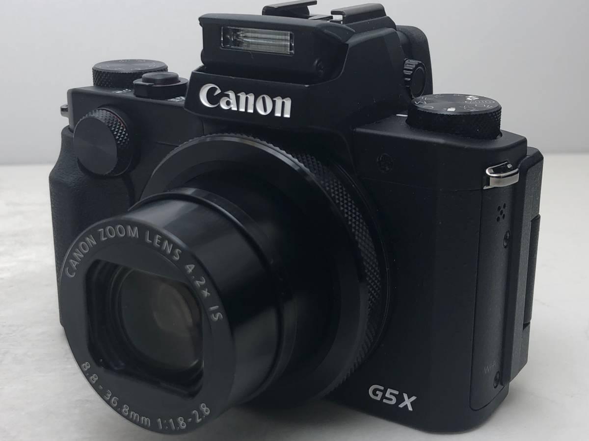 ◆新品同様◆Canon キャノン デジタルカメラ PowerShot パワーショット G5X ブラック 安心の6カ月保証 元箱付 #528_画像2