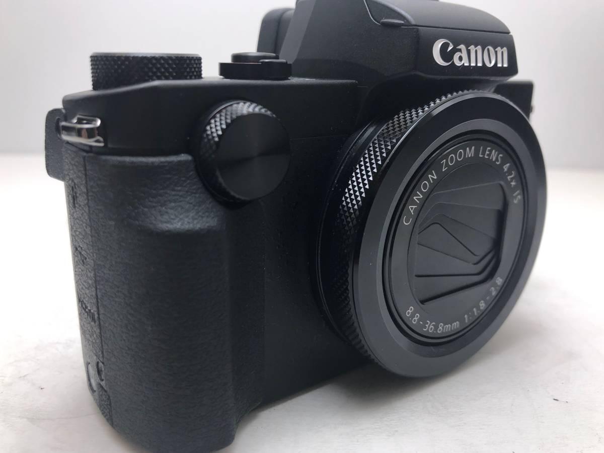 ◆新品同様◆Canon キャノン デジタルカメラ PowerShot パワーショット G5X ブラック 安心の6カ月保証 元箱付 #528_画像8