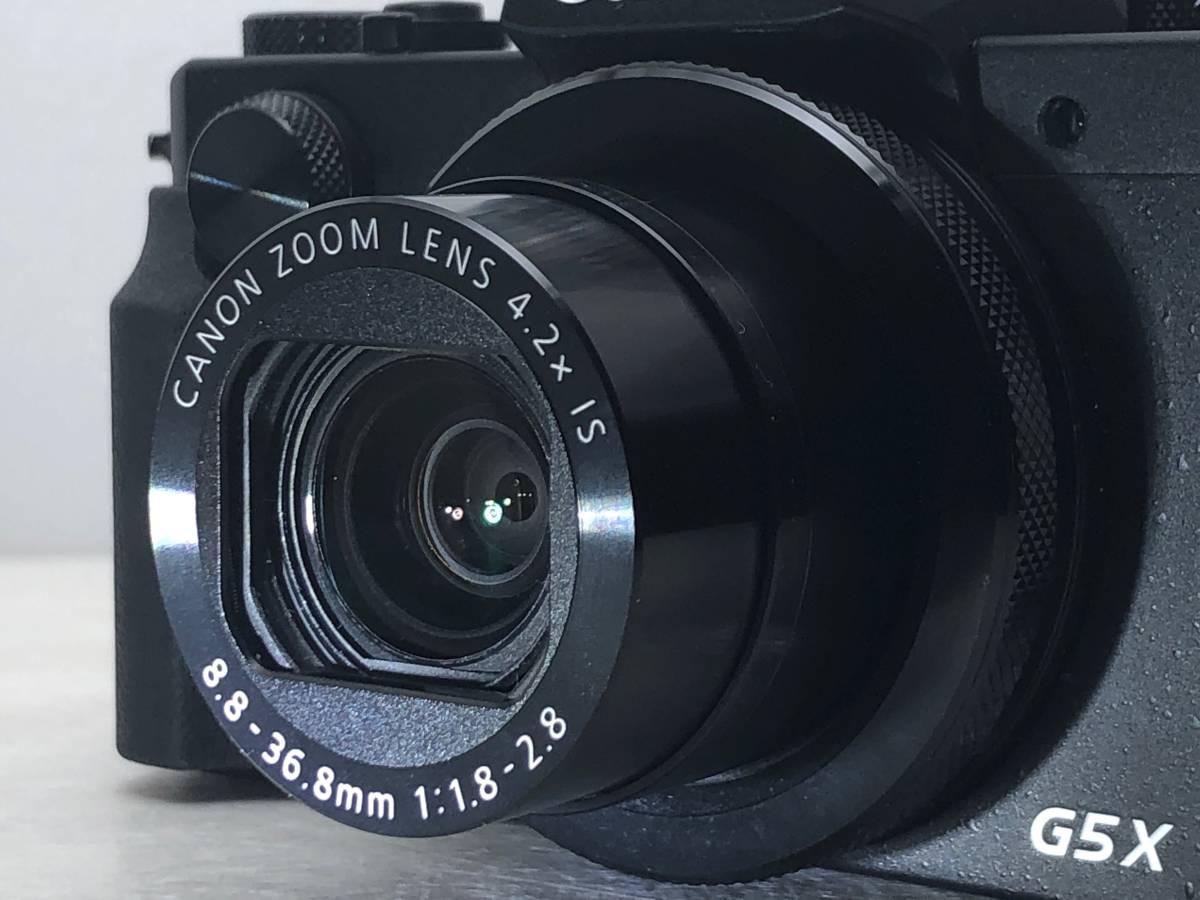 ◆新品同様◆Canon キャノン デジタルカメラ PowerShot パワーショット G5X ブラック 安心の6カ月保証 元箱付 #528_画像3