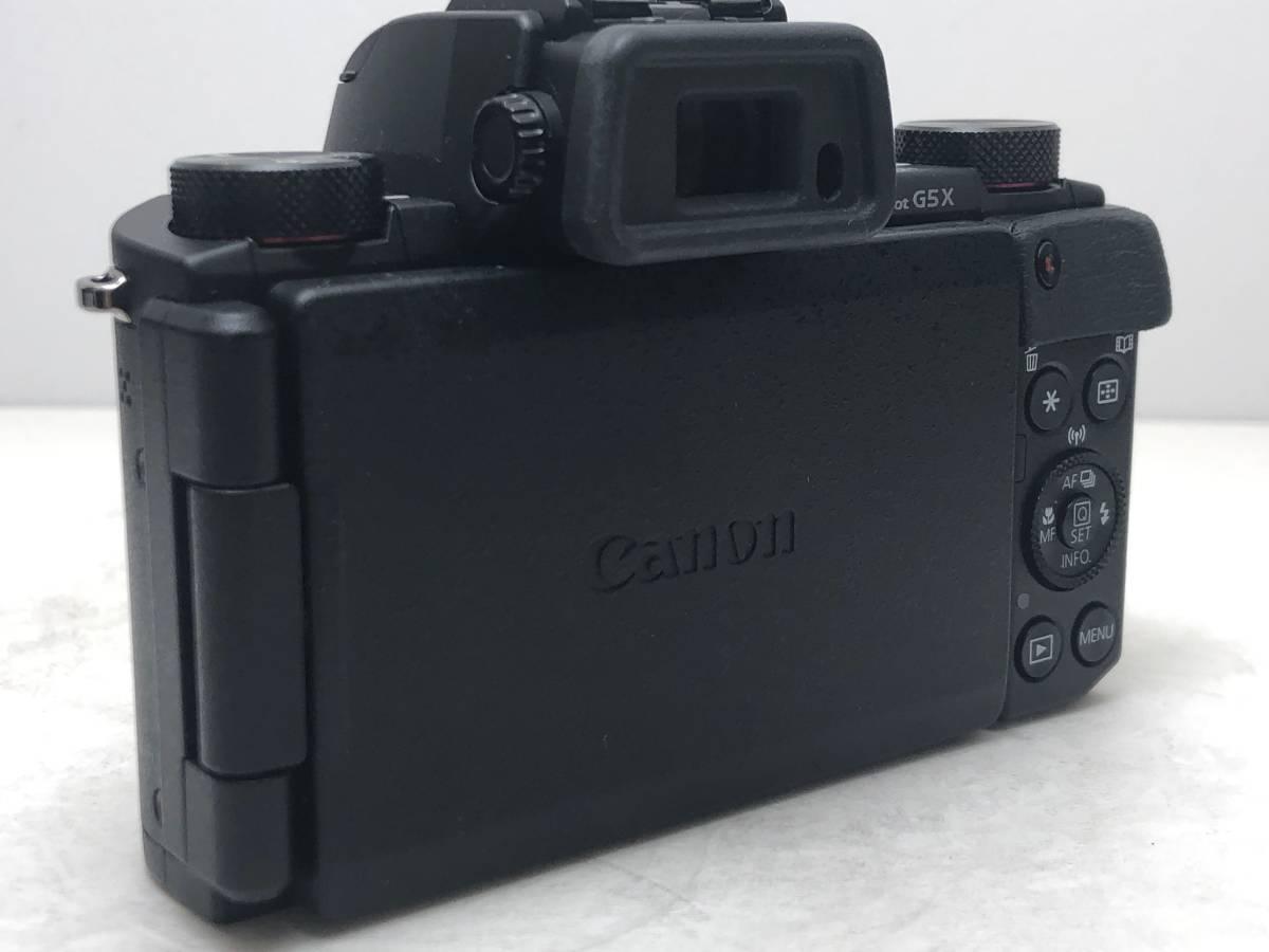 ◆新品同様◆Canon キャノン デジタルカメラ PowerShot パワーショット G5X ブラック 安心の6カ月保証 元箱付 #528_画像4