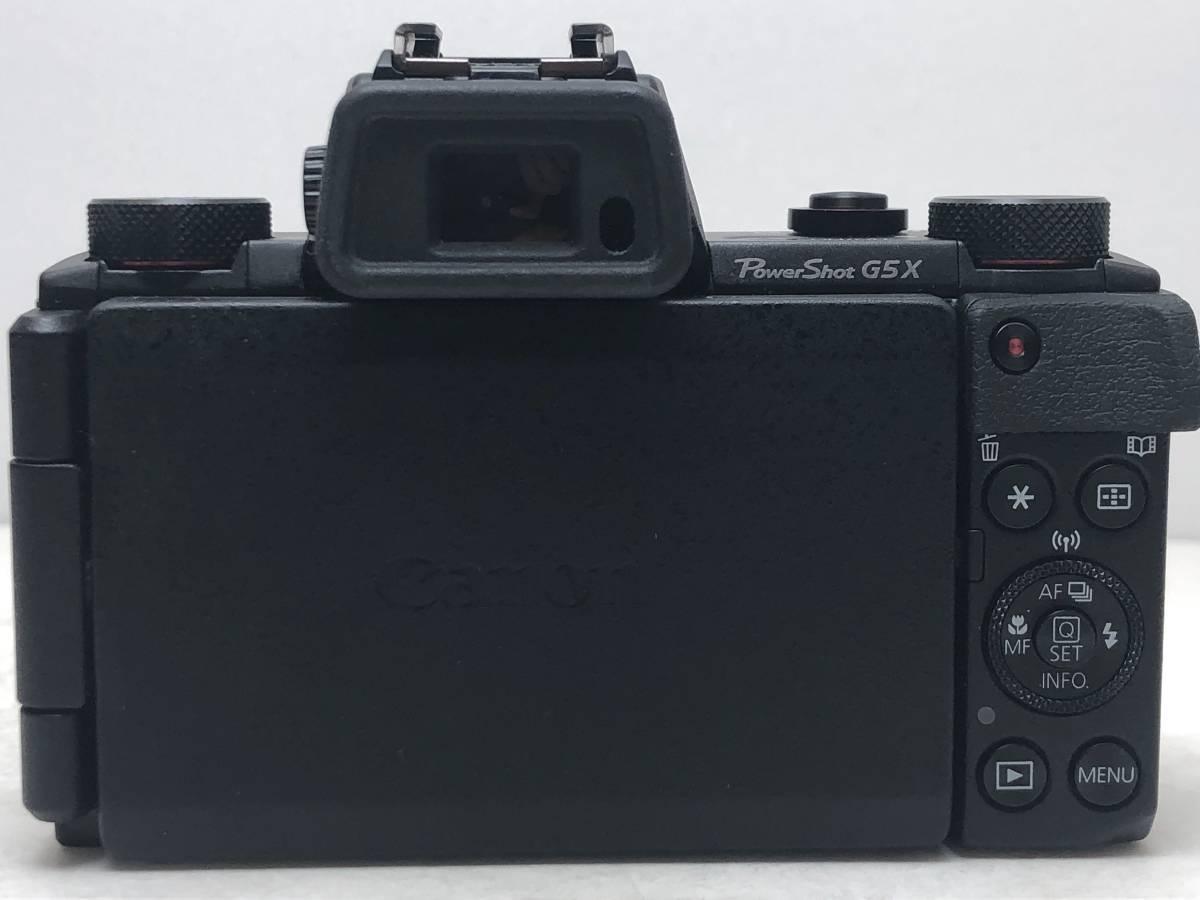 ◆新品同様◆Canon キャノン デジタルカメラ PowerShot パワーショット G5X ブラック 安心の6カ月保証 元箱付 #528_画像5