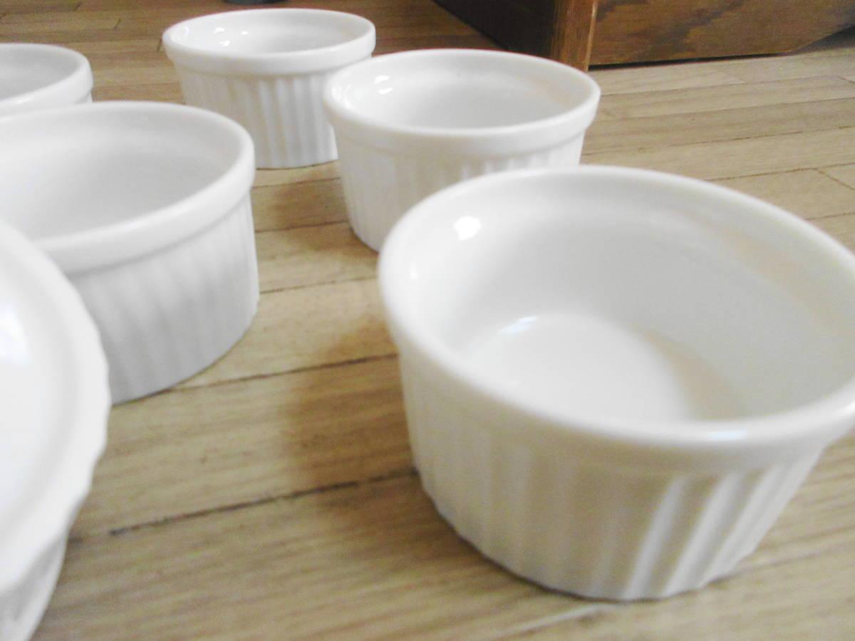 ⑤白 ココット皿 10客セット グラタン、ブリュレ、ミニサラダなどにも!_画像5