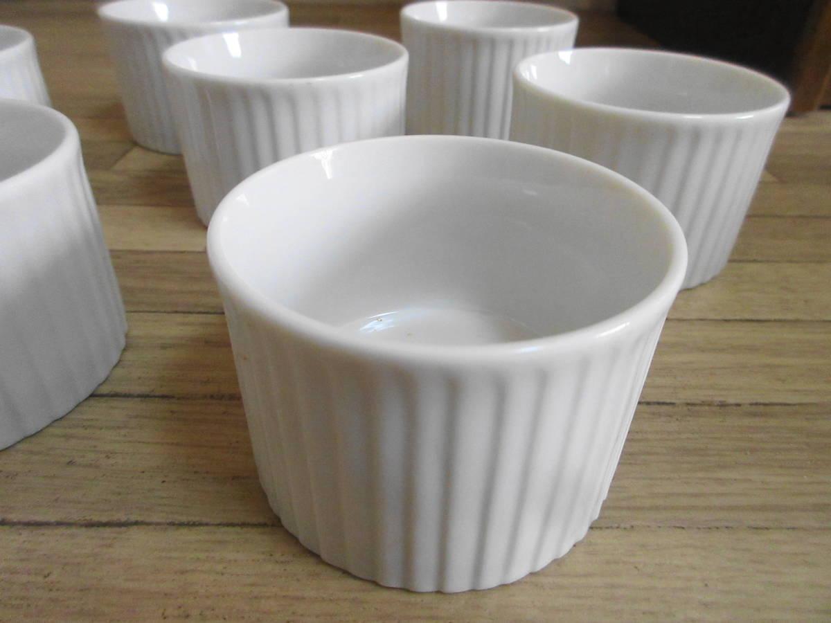 ⑤白 ココット皿 10客セット グラタン、ブリュレ、ミニサラダなどにも!_画像6