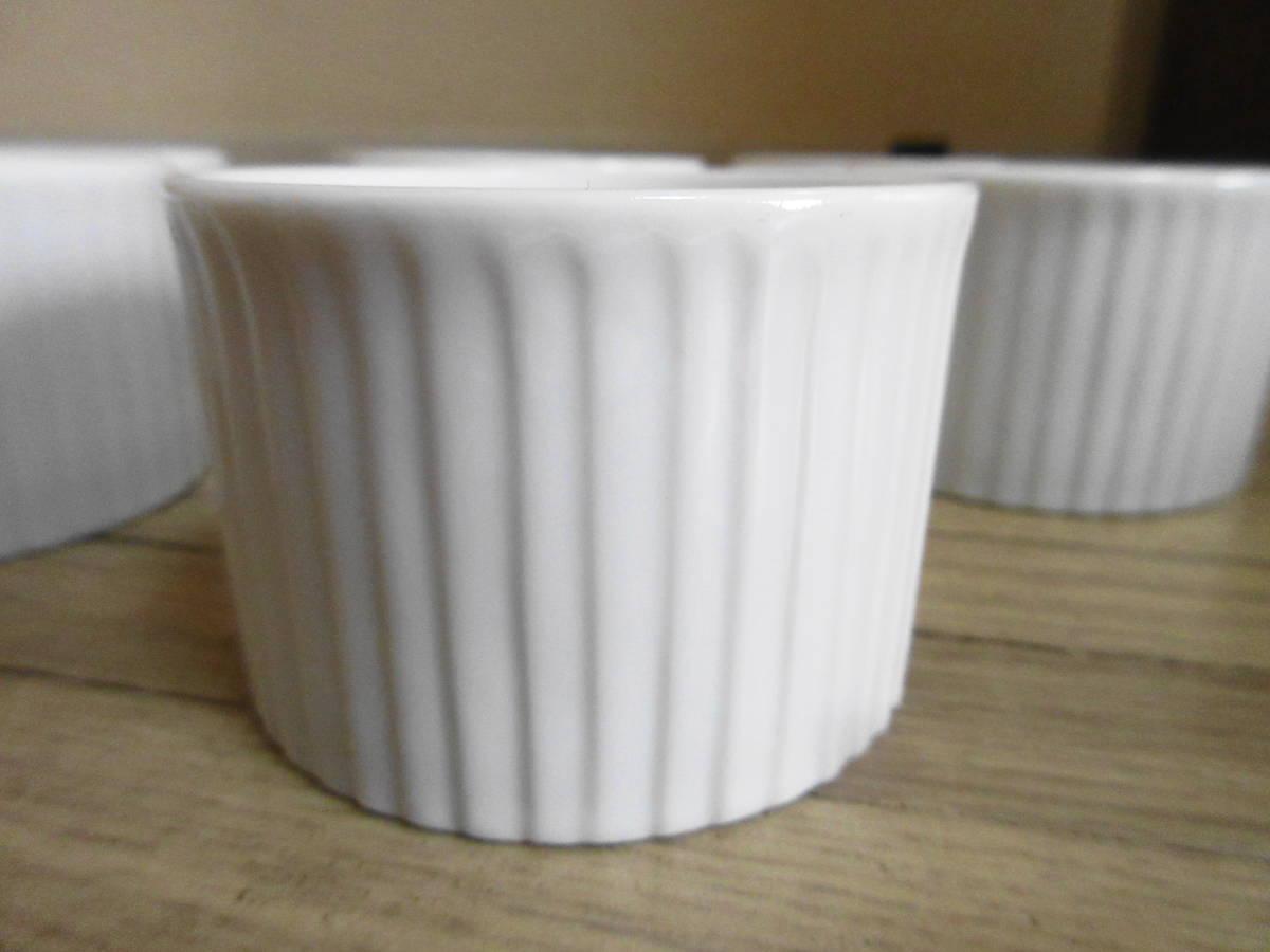 ⑤白 ココット皿 10客セット グラタン、ブリュレ、ミニサラダなどにも!_画像7