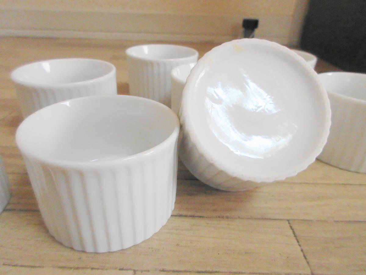 ⑤白 ココット皿 10客セット グラタン、ブリュレ、ミニサラダなどにも!_画像8