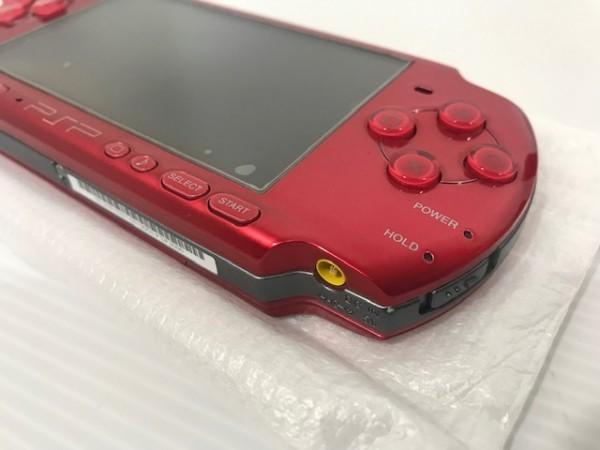 【送料無料 1円~スタート】 【極美品・完品】SONY PSP3000 ラディアントレッド PSP_画像4