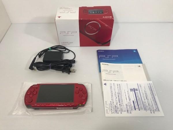 【送料無料 1円~スタート】 【極美品・完品】SONY PSP3000 ラディアントレッド PSP