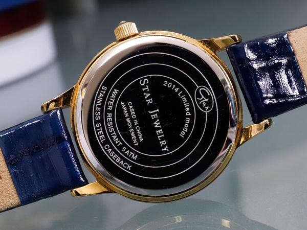 美品 スタージュエリー 完売 コスミックタイム リミテッドエディション ジュエリーウォッチ 女性用腕時計 STAR JEWELRY 本物 正規_画像7