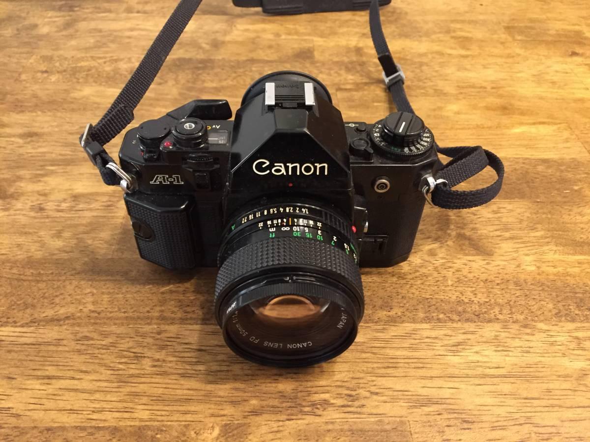 Canon A-1 キャノンA-1 レトロ 祖父の保管品