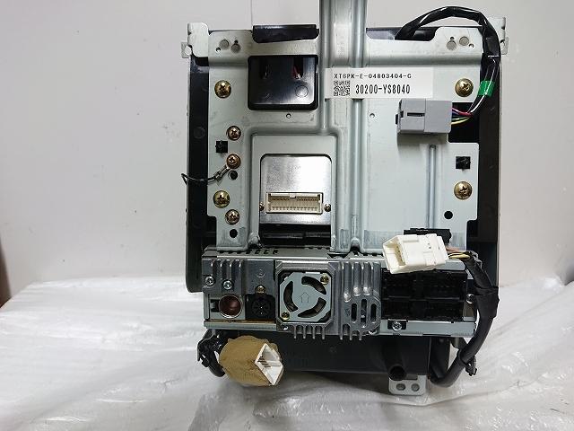 ステージア M35 後期 2DIN オーディオ パネル ナビ モニター CDデッキ付 エアコン ナビ スイッチ スカイラインV35 確認済み _画像9