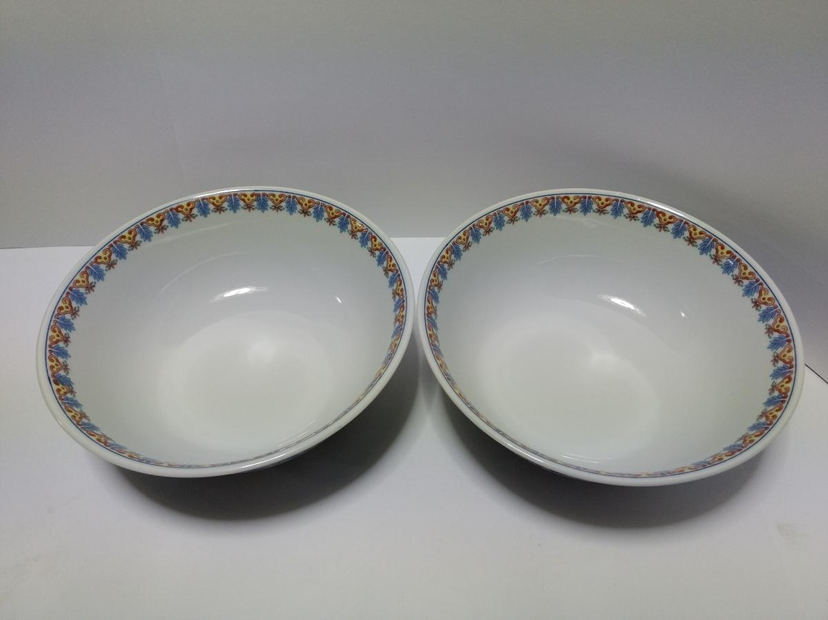 大昭和龍峰製 ラーメン鉢 4個セット どんぶり 美濃焼 ◆_画像6