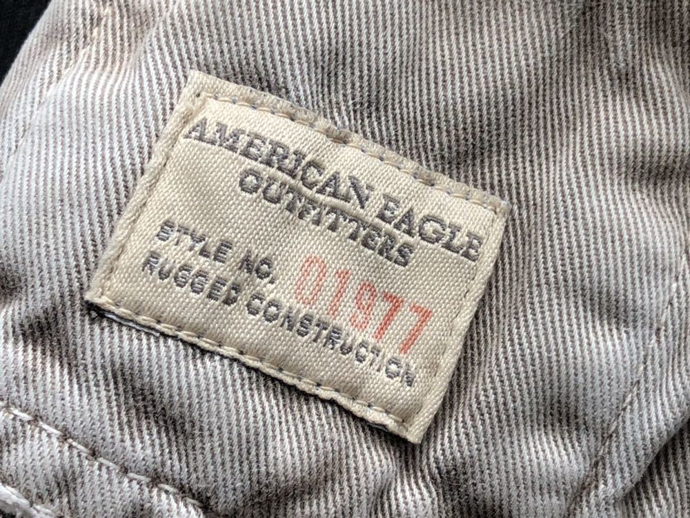 アメリカンイーグル カーゴパンツ ショートパンツ ビンテージ加工  AMERICAN EAGLE ハーフパンツ カーゴショーツ ダメージ加工 柳1352_画像8