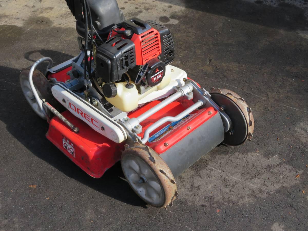 4WD  オーレック 人気機種●  SP50 自走式草刈機  ロータリーモア  ●実働品_画像2