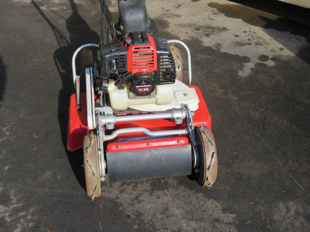 4WD  オーレック 人気機種●  SP50 自走式草刈機  ロータリーモア  ●実働品_画像3