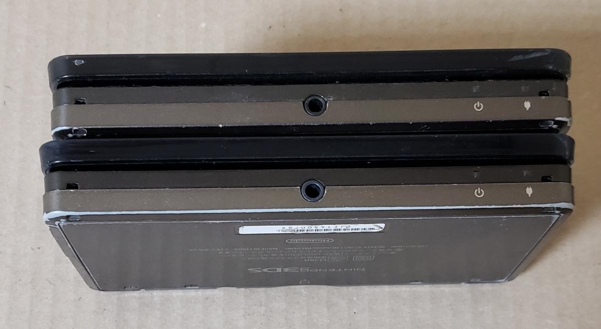 【ジャンク品】任天堂 Nintendo3DS本体のみ×2台_画像7