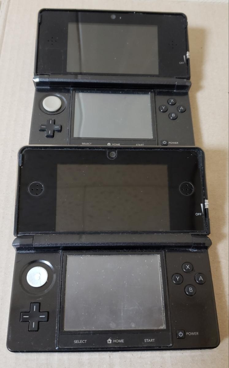 【ジャンク品】任天堂 Nintendo3DS本体のみ×2台_画像2