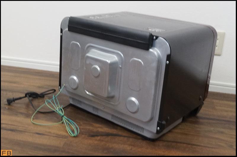税込◆TOSHIBA◆過熱水蒸気オーブンレンジ ER-MD200 30L グンランレッド 取説付 東芝-B64452_画像4